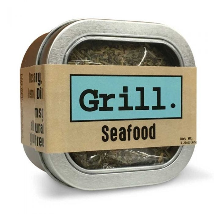 Seafood Grilling Herbs