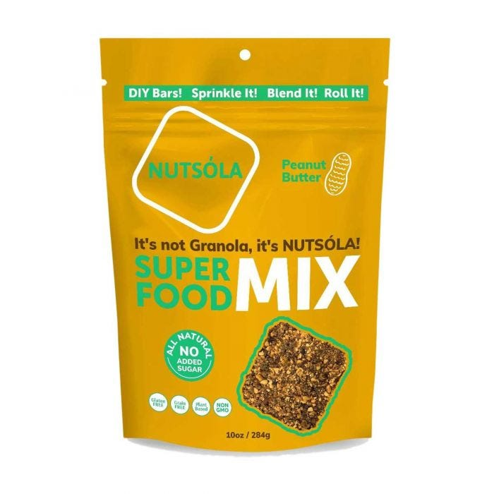 NUTSÓLA All-Natural DIY Superfood Mix