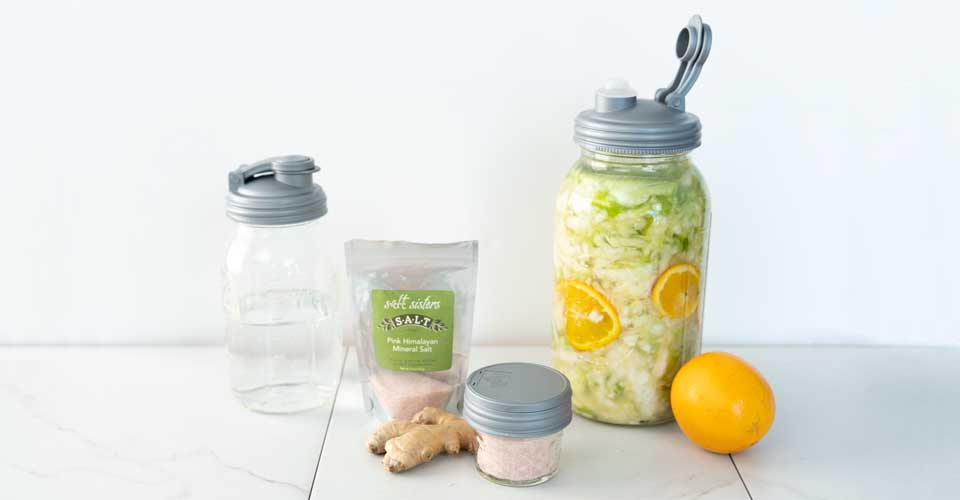 mason jar fermentation products