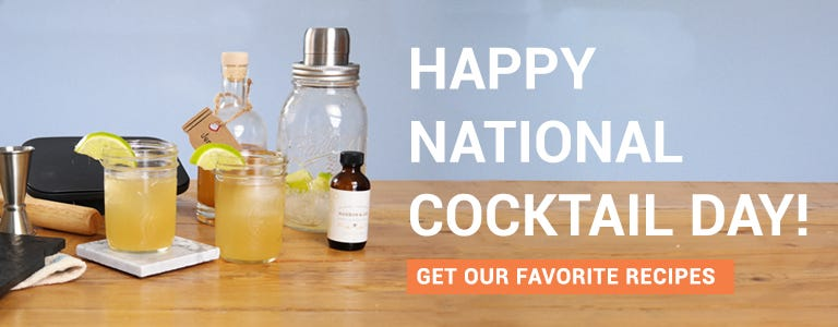 National Cocktail Day Recipes